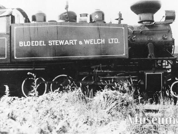 Bloedel Stewart & Welch locomotive No. 4