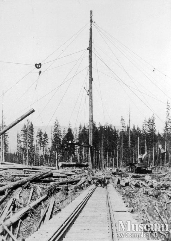 Elk Bay Timber Co. operations