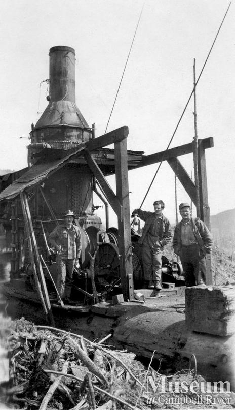 Lamb Lumber Co. operations at Menzie's Bay