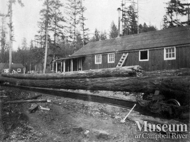 Wilson and Brady's camp, Quadra Island