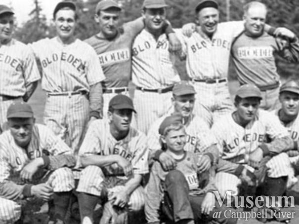 The Bloedel, Stewart and Welch camp 5 softball team