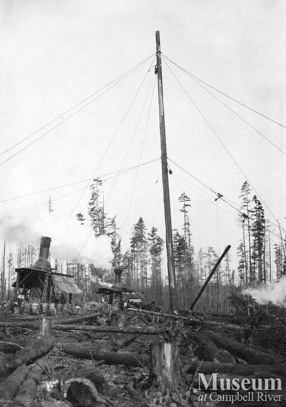 International Timber Co. operations near Campbell River