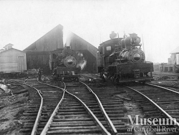 International Timber Co. locomotives at Camp 2