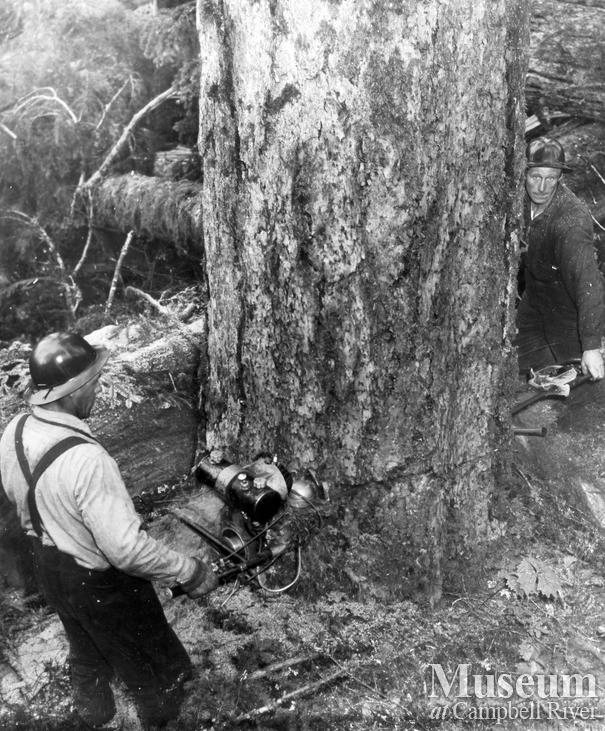 Canadian Forest Products Ltd. Camp at Woss