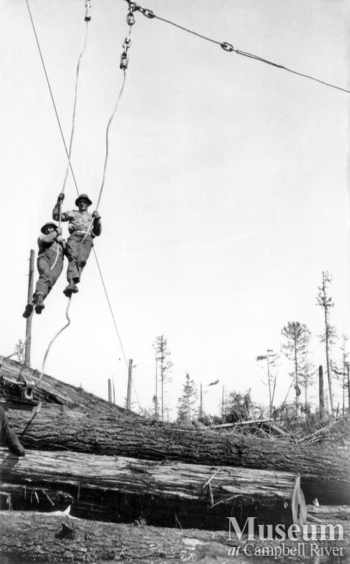 Elk River Timber Co. logging operations