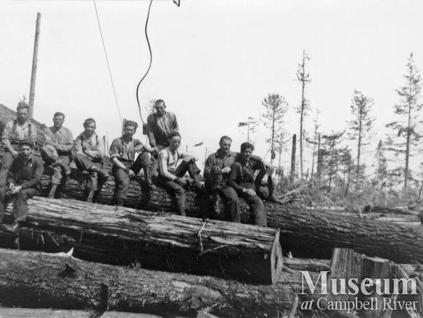 Elk River Timber Co. crew