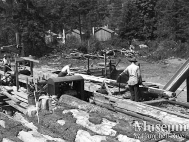 Beecher Lake Lumber Co. sawmill
