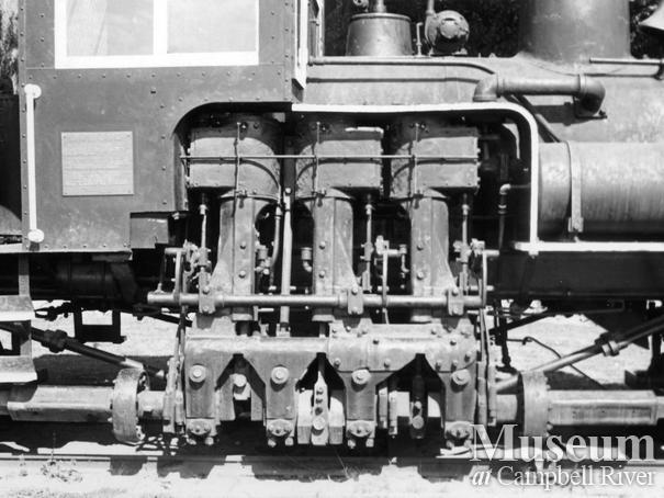Alberni Pacific's #2 - engine now preserved at Port Alberni