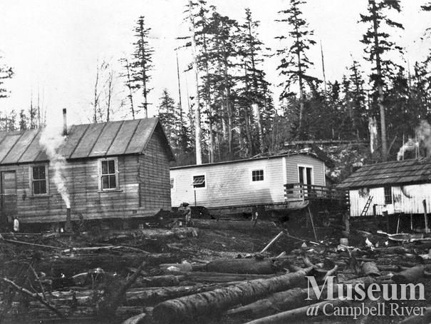 Bendickson Logging camp on Quadra Island
