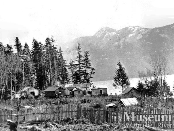 A Bendickson Logging camp