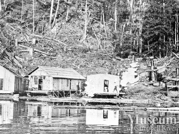 Bendickson Logging camp on Read Island