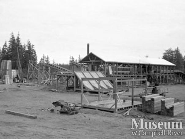 Beecher Lake Lumber Co. near Campbell River