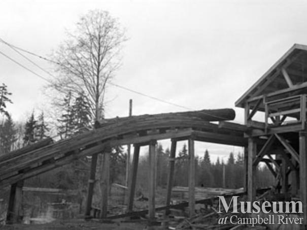 Beecher Lake Lumber Co. near Campbell River