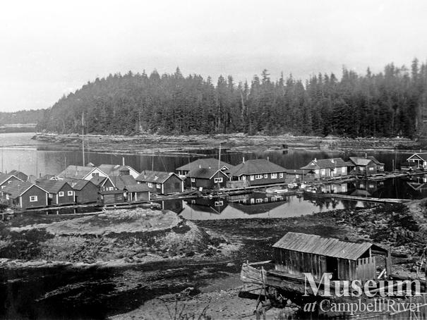 Bendickson Logging float camp
