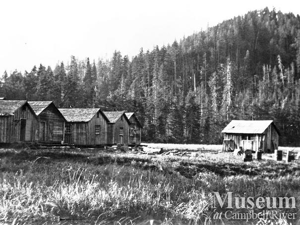 HPB Logging Co. camp at Loughborough Inlet