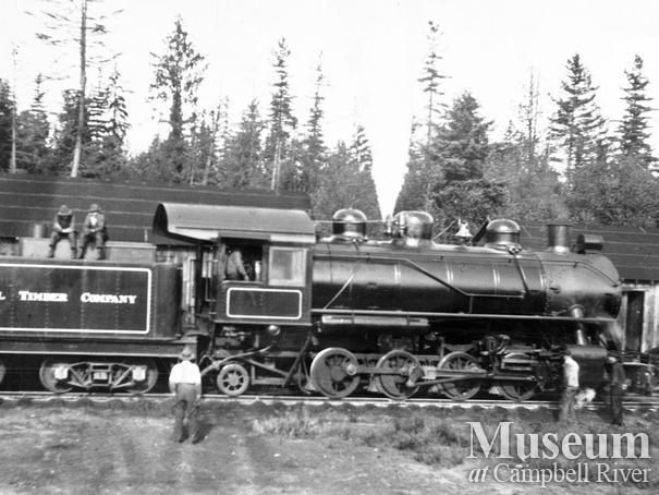 Elk River Timber Co. 5 spot locomotive