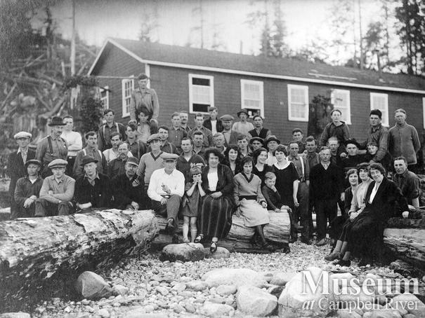 Brown and Kirkland logging crew and their families