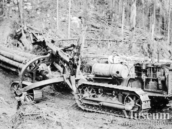 T.J. Brown Logging Co. near Campbell River