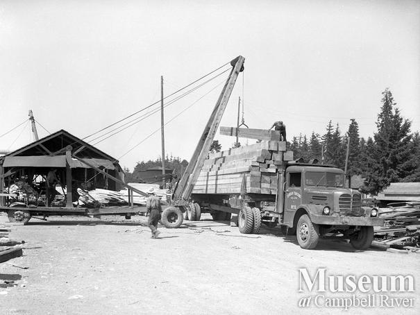 Joe Zanatta's sawmill at Campbell River