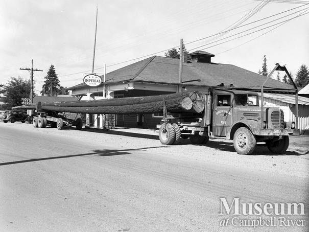 Quinsam Trucking co. Campbell River