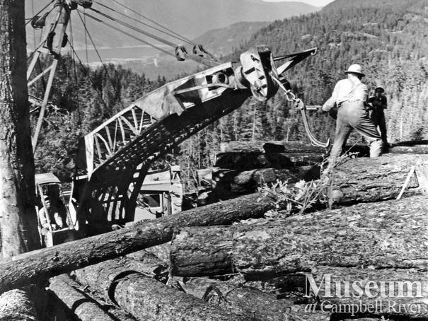 Baikie Bros. Logging at Upper Campell Lake