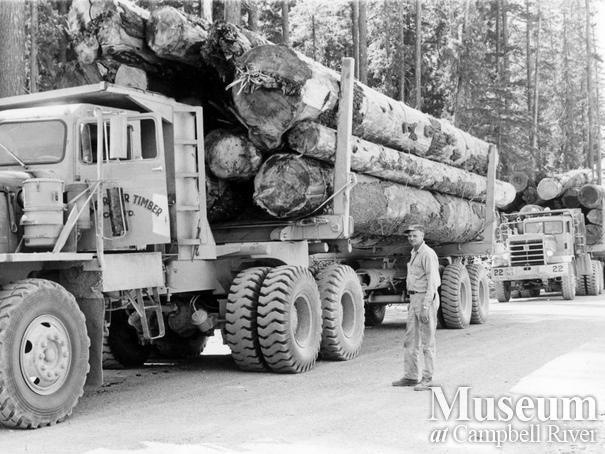 Elk River Timber Co. logging truck