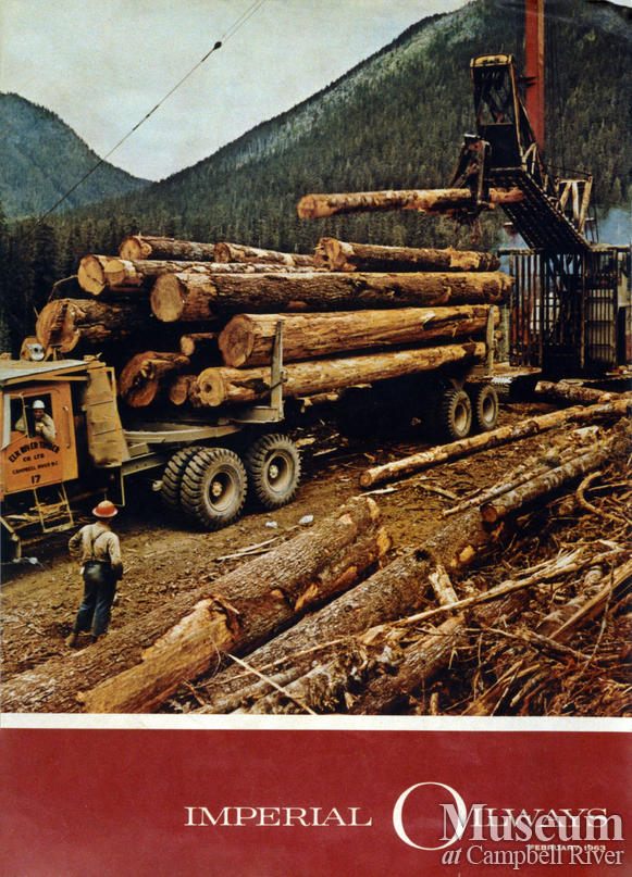 Elk River Timber Co. logging truck