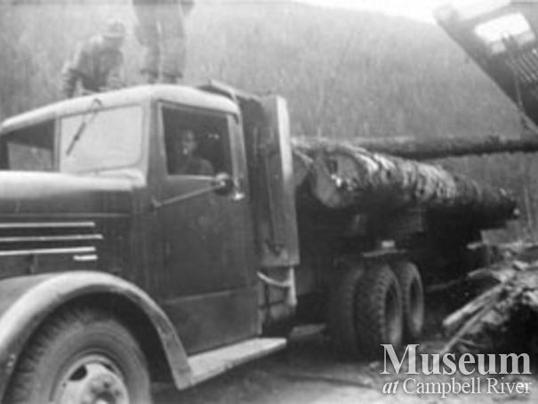 Pioneer Timber Co.logging truck