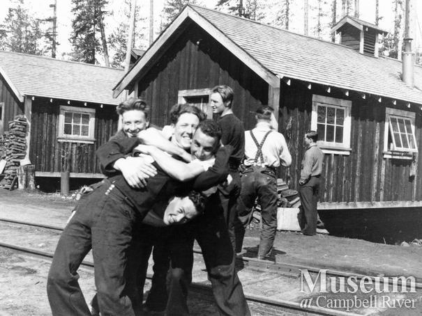 Elk River Timber Co. camp