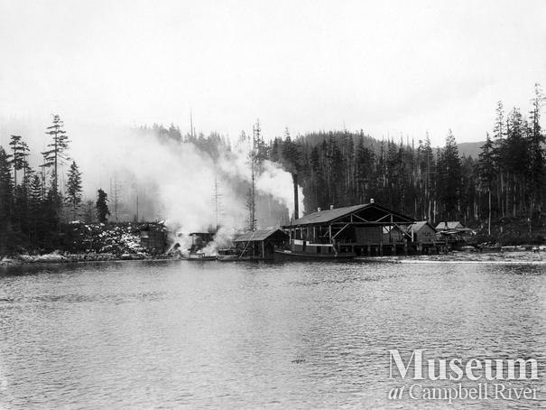 Shingle Mill near Green Point Rapids