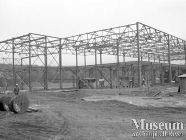 Constructing the Elk Falls Mill