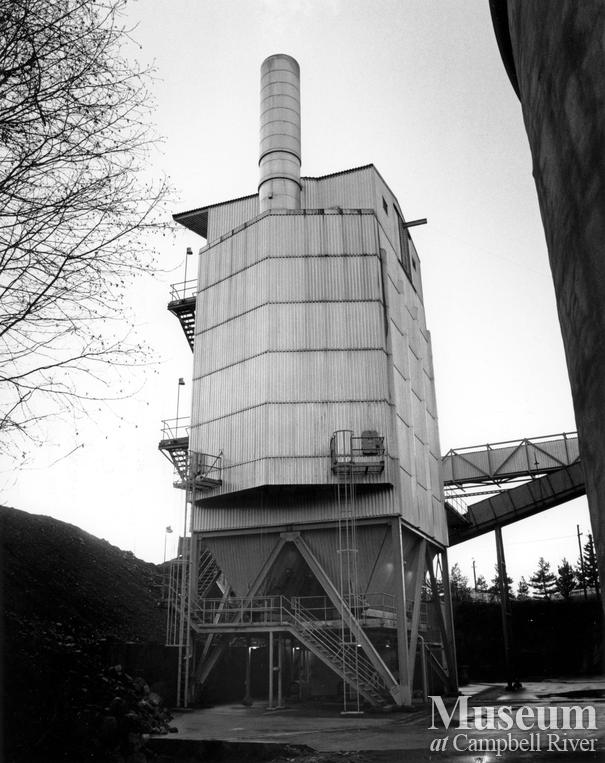 Elk Falls Mill operations Campbell River