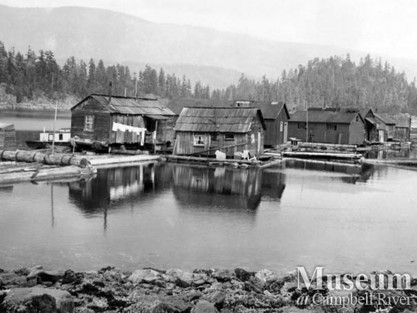 Dick Parker's logging camp