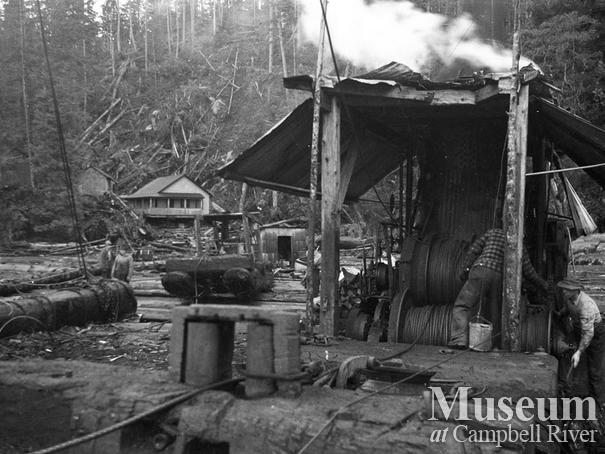 Dot Logging Co.at Knight Inlet