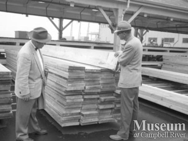 Elk Falls Mill operations Campbell River