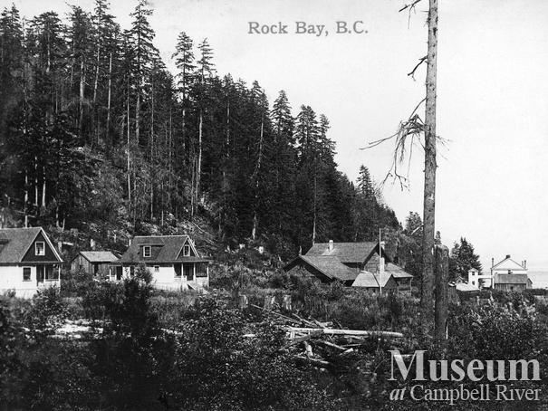Rock Bay postcard