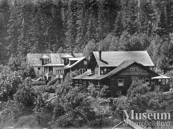 Hastings Co. camp at Rock Bay