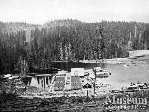 Hasting Co. Camp D on Trout Lake