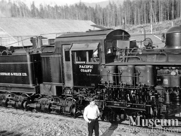 Bloedel Stewart and Welch Ltd. locomotive