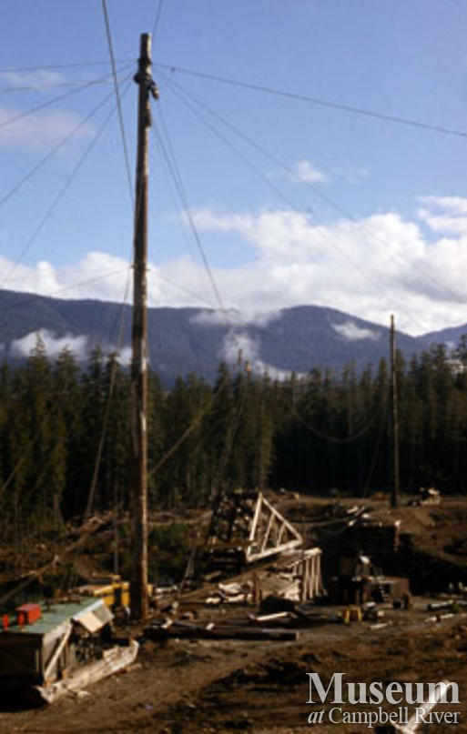 Canadian Forest Products near Woss camp