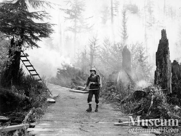 Fighting the Sayward Forest Fire