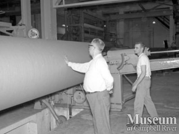 Elk Falls Mill paper machine #2