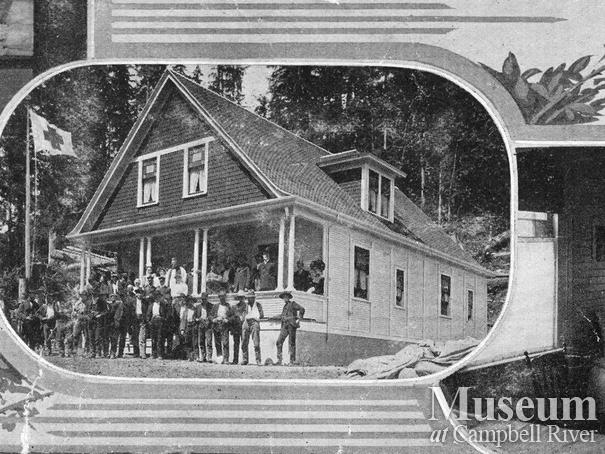 Rock Bay Hospital postcard