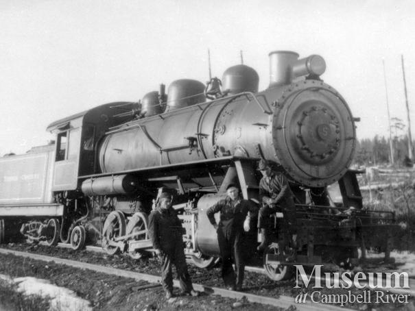 Elk River Timber co. locomotive