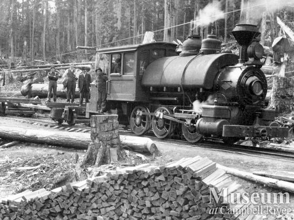 BC Mills Timber and Trading Co. locomotive