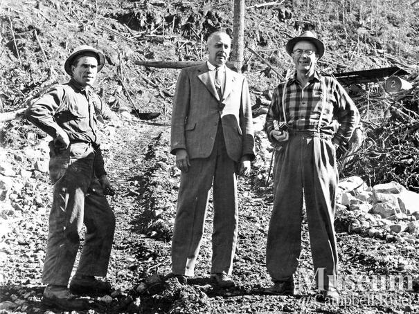 Jerry Merrill, Norm Tipper, and Wallace Baikie