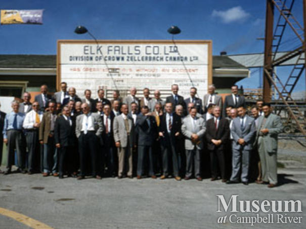 Elk Falls Mill team
