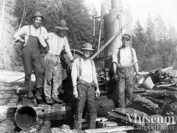 Hernando Island loggers