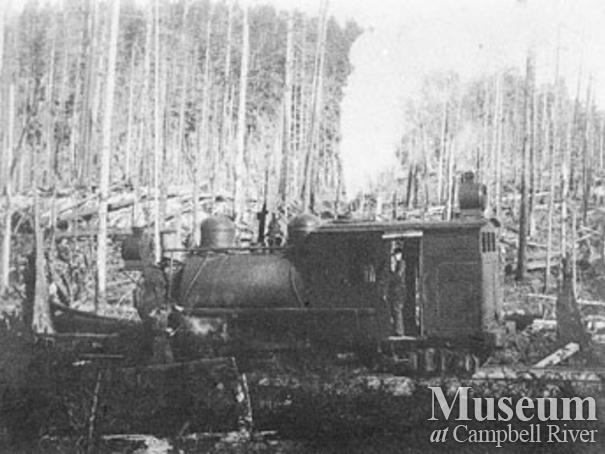 Hastings Co. locomotive at Granite Bay