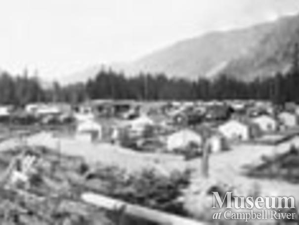 Panorama of Woss Camp